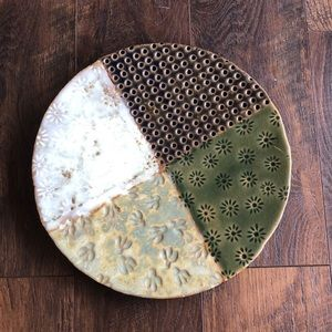 Anthropologie entry way decorative plate